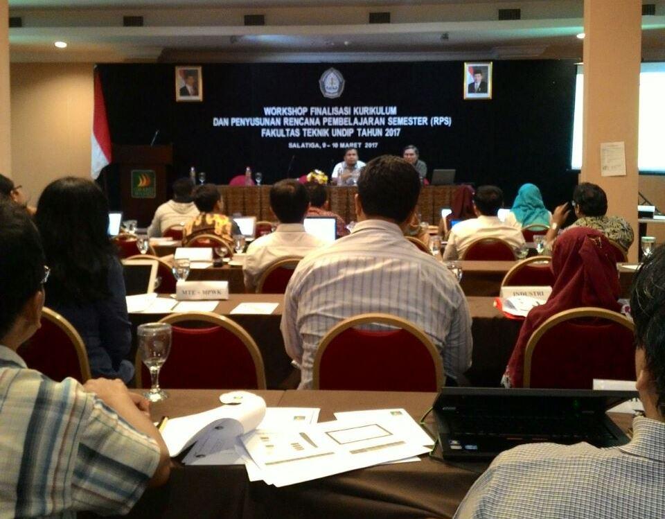 Workshop Finalisasi Kurikulum dan Penyusunan Rencana Pembelajaran Semester