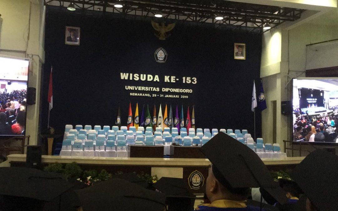 Wisuda ke-153 Universitas Diponegoro